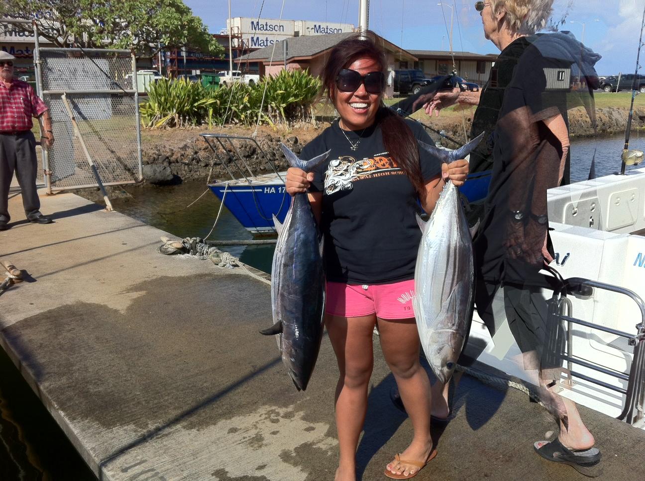 C lure fishing chaters kauai hawaii september 2012 for Fishing in kauai