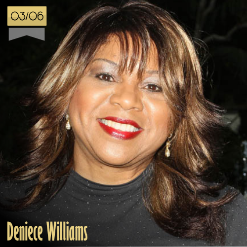 3 de junio | Deniece Williams - @NiecyOfficial | Info + vídeos