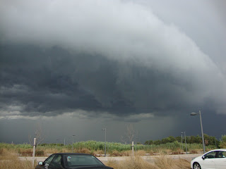 Valencia sky - Incredible storm photo - Spain