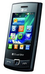 LG P520 dual SIM touchscreen phone unveiled