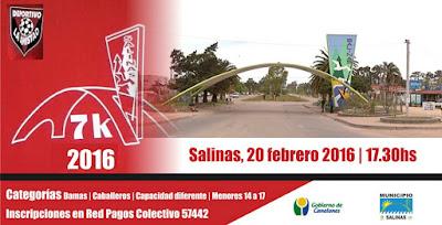 7k Deportivo La Amistad en Salinas (Canelones, 20/feb/2016)