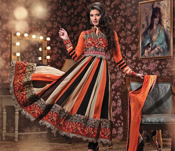 anarkali suits 2013 fashion