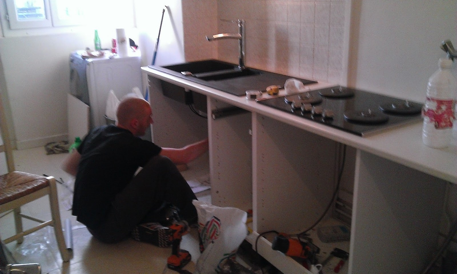 Evier cuisine schmidt plaque induction plaque en que choisir with evier cuisine schmidt meuble - Decoupe plan de travail evier ...