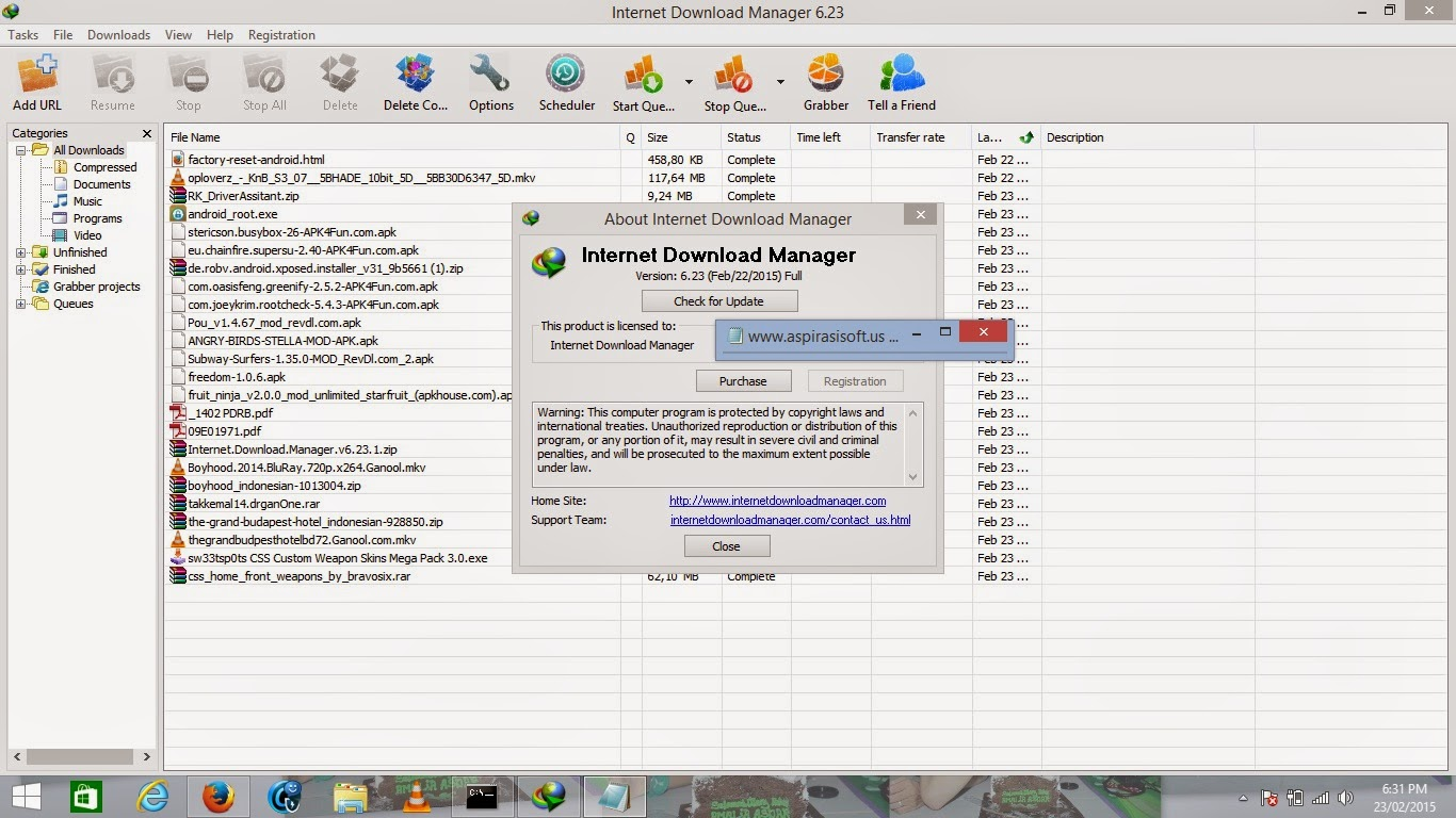 Internet Download Manager 6.23 Full Repack - MirrorCreator