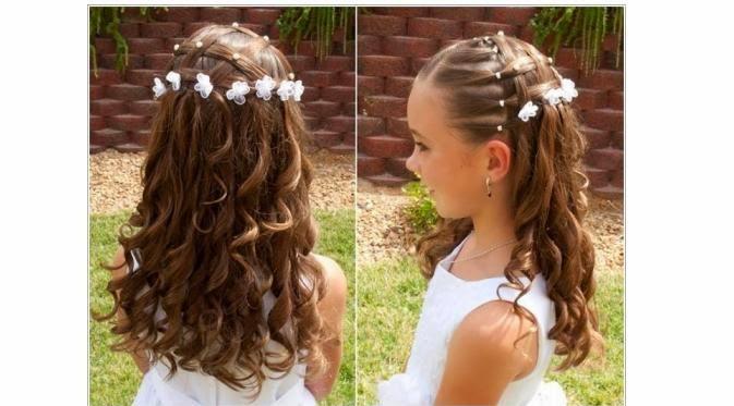 Foto Model Rambut Anak Perempuan Potongan Lucu