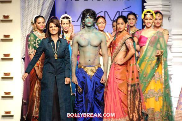 , Neeta Lulla's Show At Lakme Fashion Week 2012