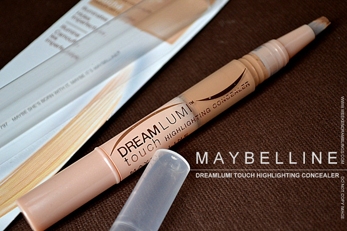 Maybelline Makeup DreamLumi Touch Highlighting Pen Concealer Honey Mel Indian Beauty Blog Darker Skin Reviews Swatches Ingredients Makeup Looks FOTD How to Use Apply