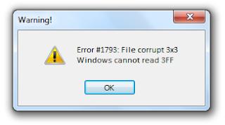 kode error