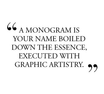 Monogram Meredith: Why I Love Monograms