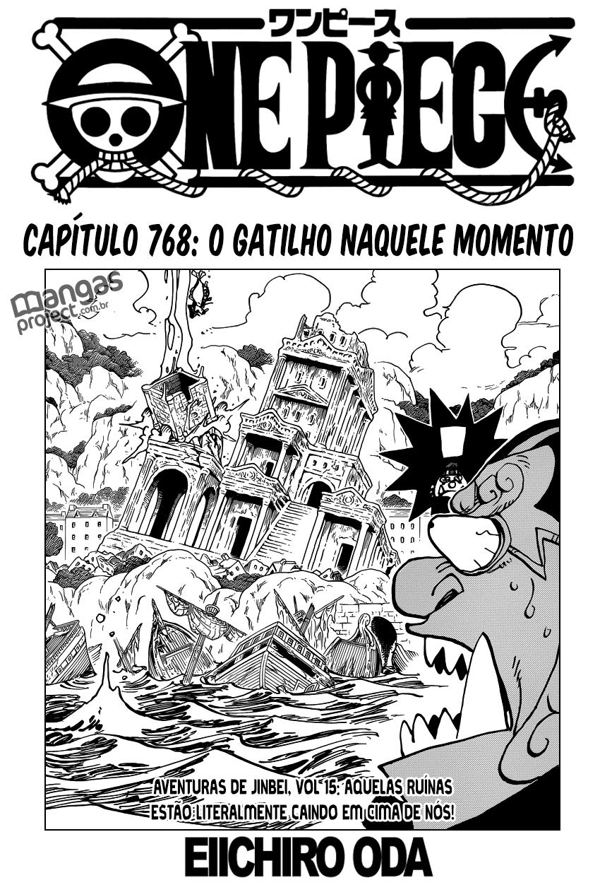 One Piece 768 Mangá Português leitura online