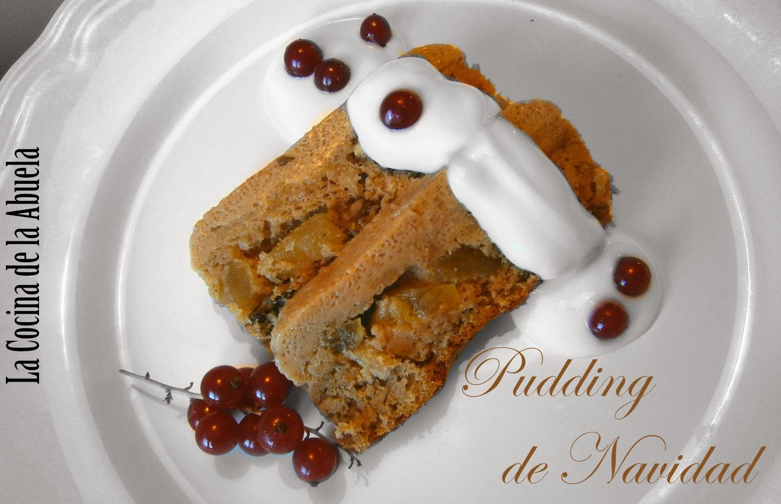 Pudding de navidad My Way