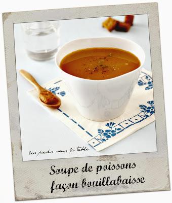 Soupe de poissons, façon bouillabaisse