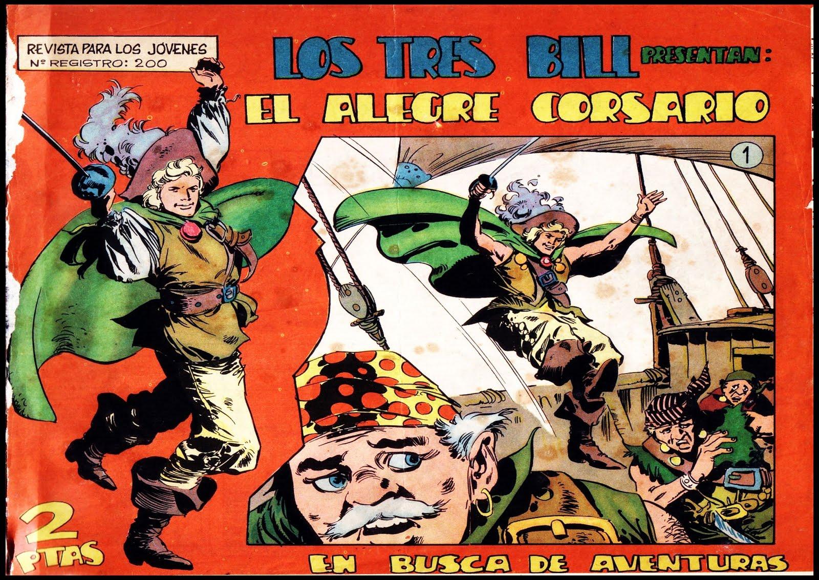 PRÓXIMAMENTE: EL ALEGRE CORSARIO (25 NÚMEROS)