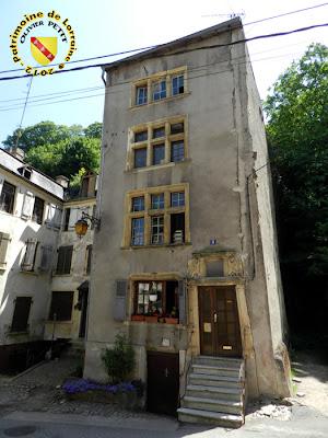 SIERCK-LES-BAINS (57) - La Maison Berweiller (1624)