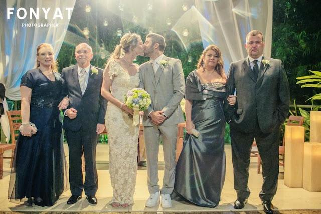 foto casamento da Luana Piovanni