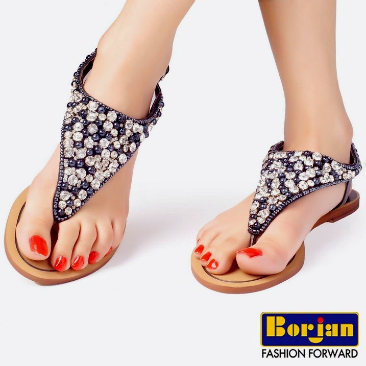 2019 year look- Chappals stylish for girls