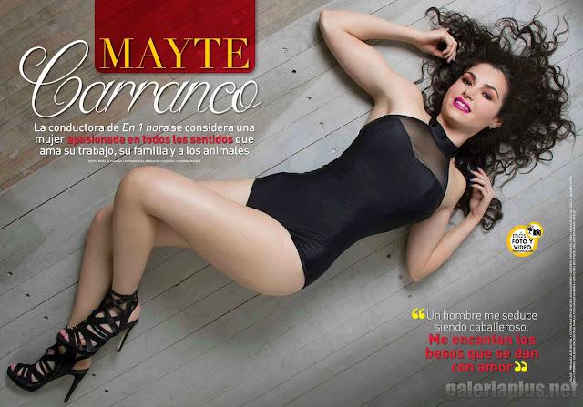 Fotos Mayte Carranco Revista TvyNovelas Superclick - Junio 2015