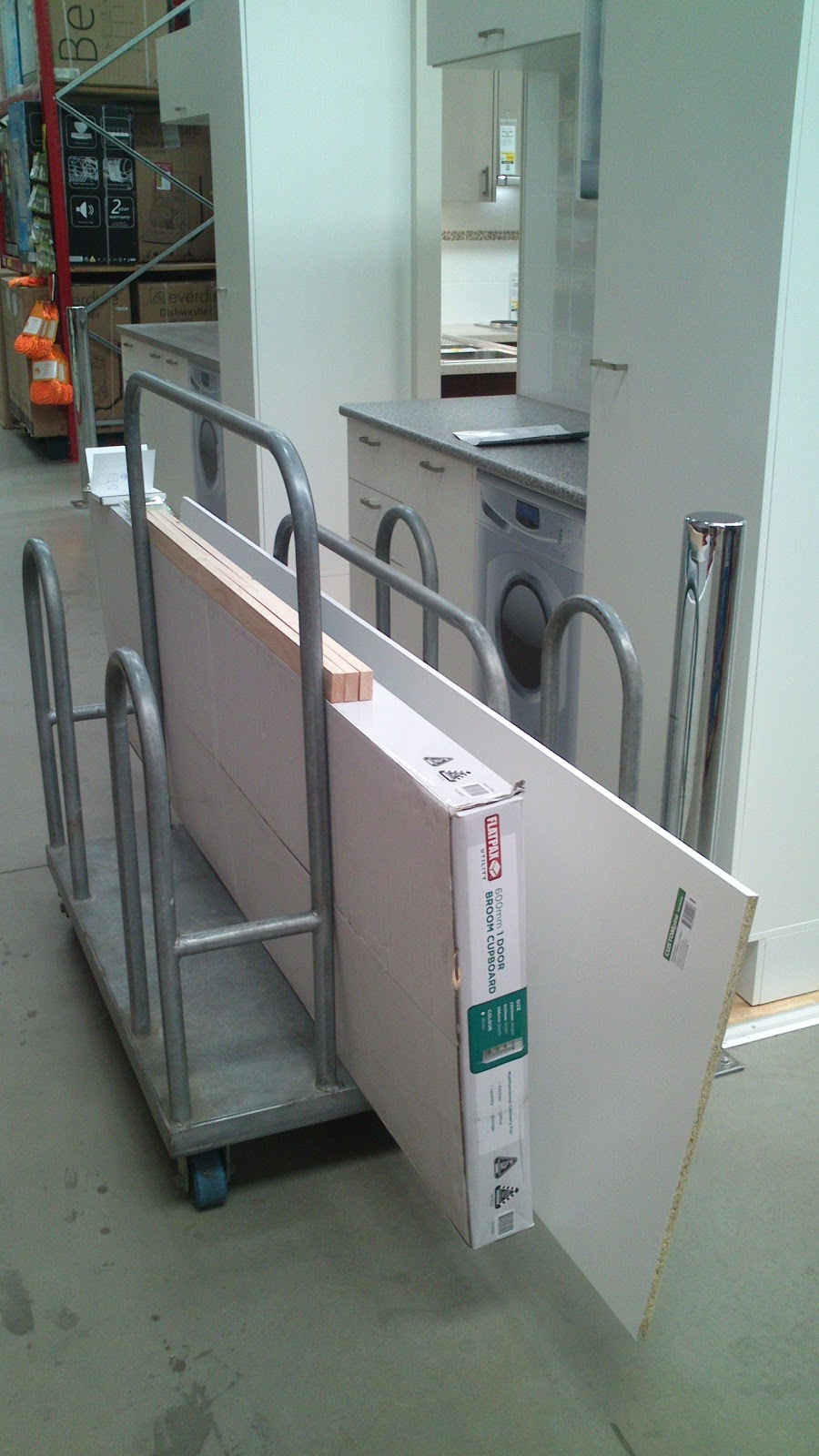 Bunnings Laundry Tub Cabinet : The above photo is the before shot, although the brand new ...