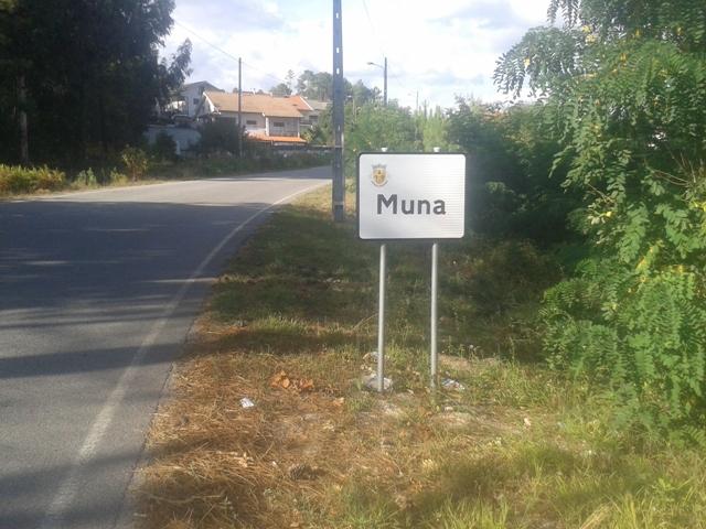 Placa de Muna