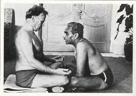 El maestro enseñando a Yehudi Menuhin