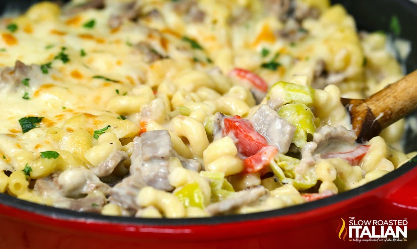 http://theslowroasteditalian-printablerecipe.blogspot.com/2014/04/philly-cheesesteak-mac-and-cheese.html