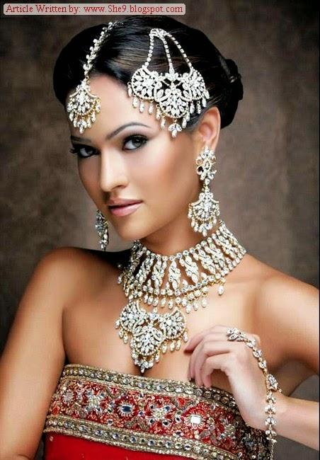 Pakistani Bridal Hairstyles 2014-2015