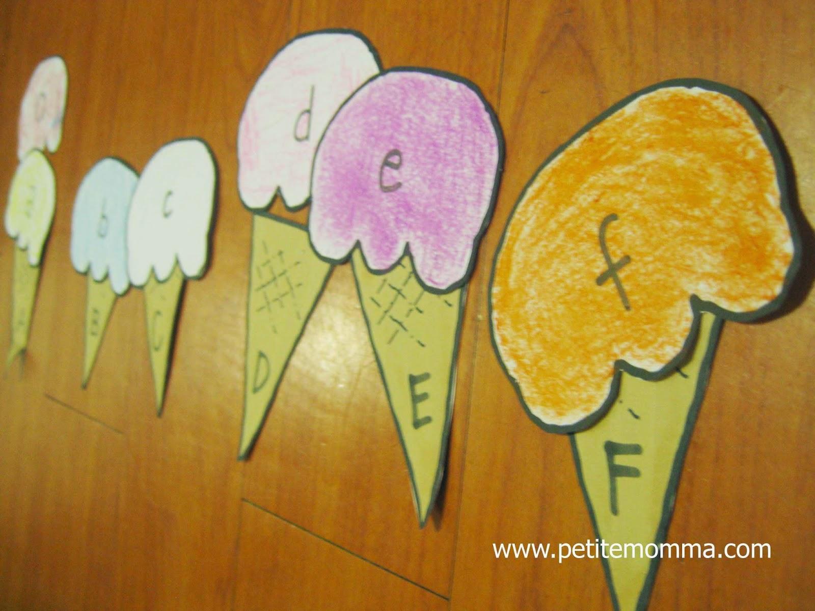 preschool homeschool activity