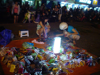 Accerorios street stall for mobile (Vietnam)