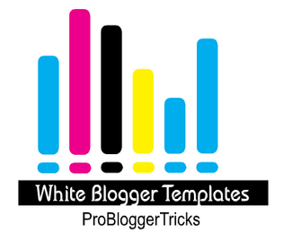white color blogger templates