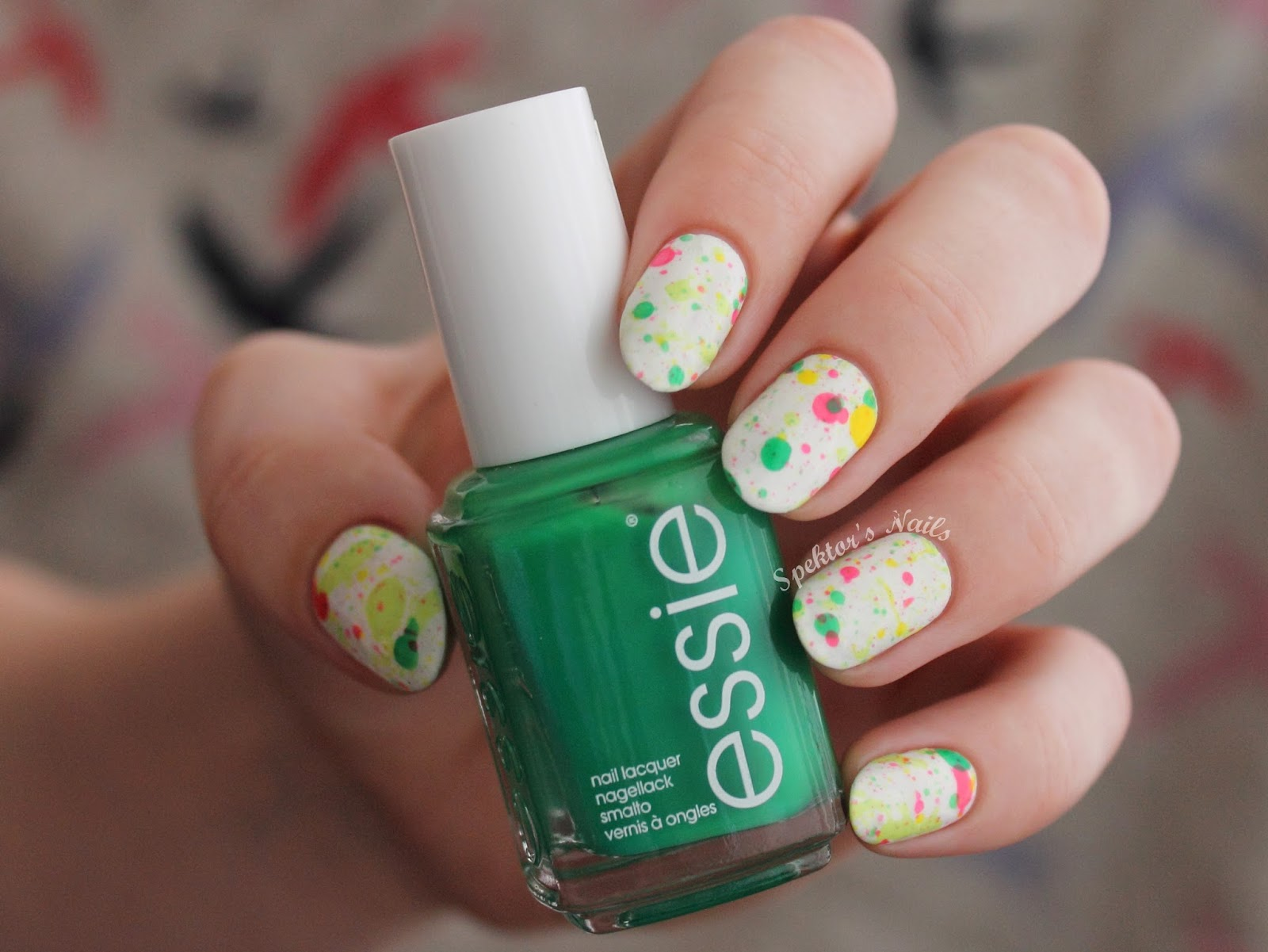 Spring/Summer Splatter Nails