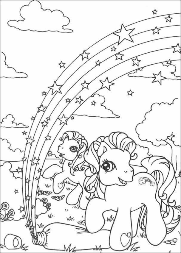 FUN LEARN Free worksheets for kid My little pony free