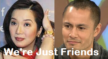 Kris Aquino and Derek Ramsay are Just Friends