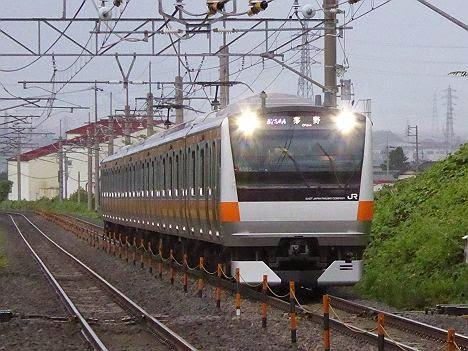 中央線 茅野行き E233系