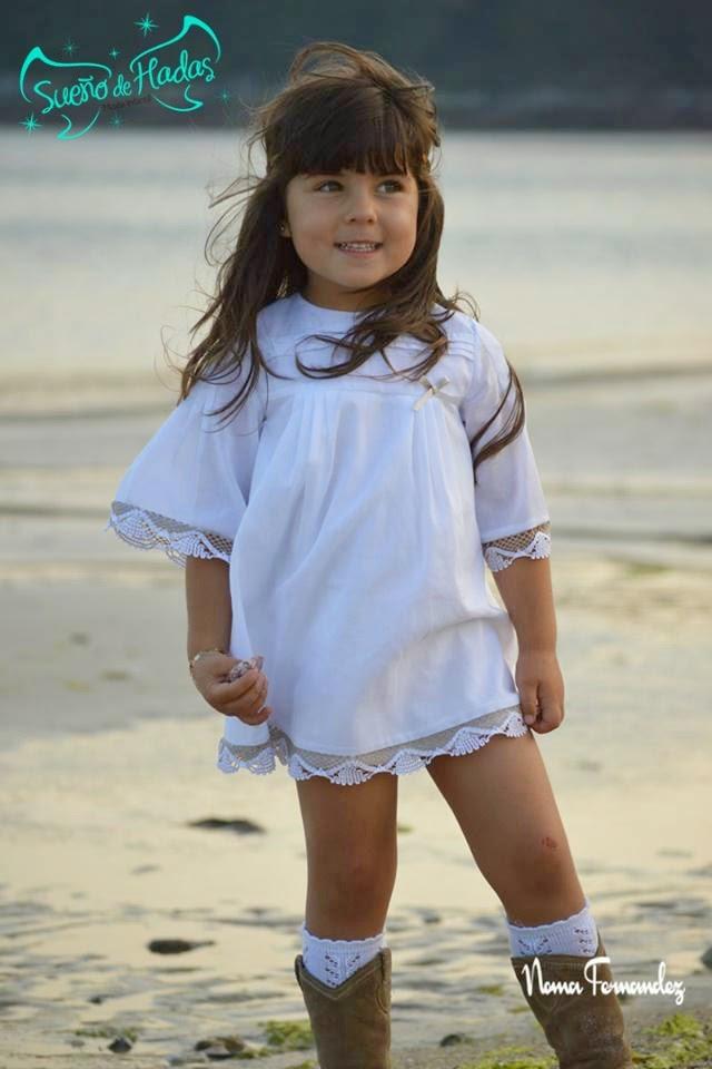 vestido blanco niña - Noma Fernández