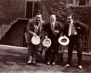 Enrico Caruso, Francesco Paolo Tosti and Antonio Scotti, London 1905