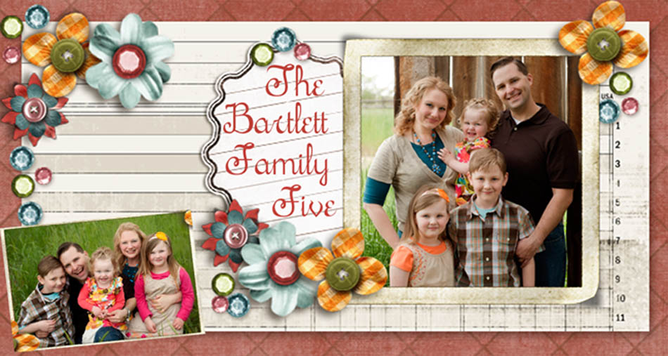 The Bartlett Family Five