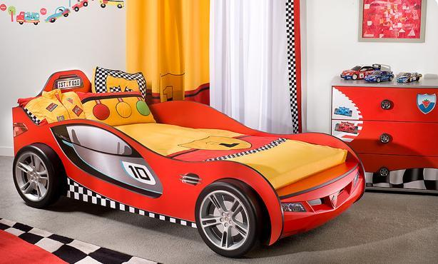 Awesome Chambre Garcon Voiture Deco Contemporary - Yourmentor.info ...