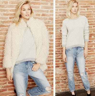 Suiteblanco roupa feminina outono inverno casaco de pelos calça jeans