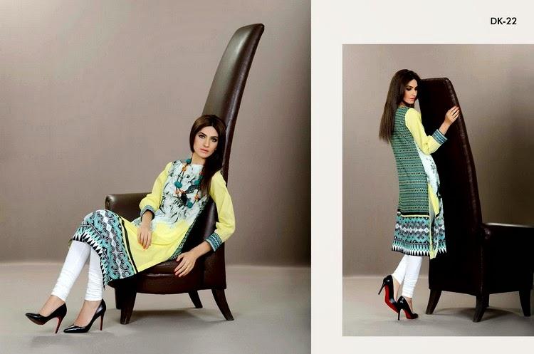 Five-Star Digital Vogue Embroidered Eid Dresses-14