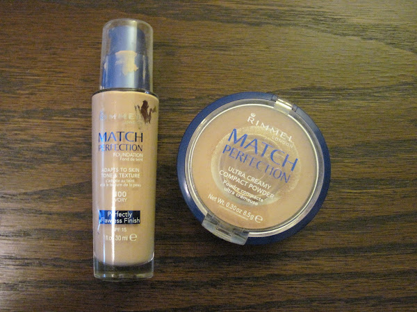 Rimmel Match Perfection Foundation & Powder