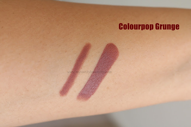 Colourpop Grunge Swatch