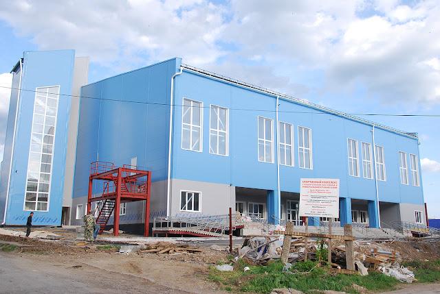 Строительство бассейна в Лысьве