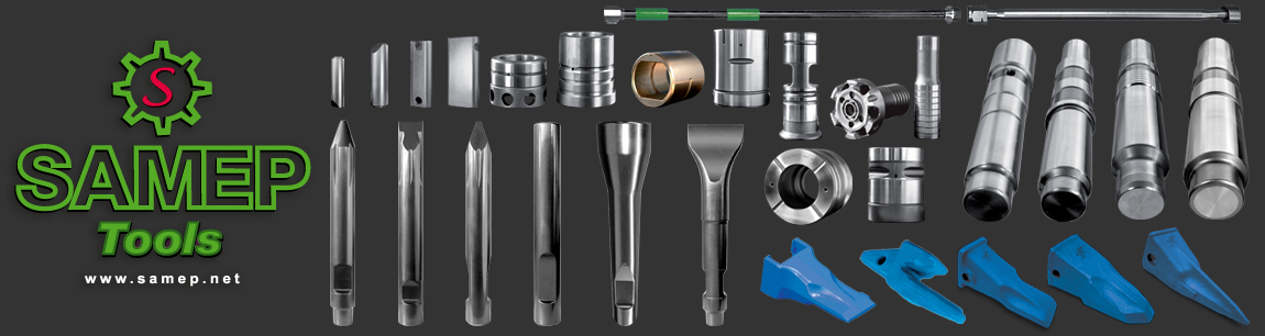 Production of tools spare parts for hydraulic hammers