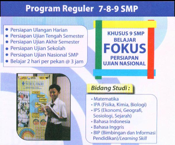 program khusus kelas 7-8-9 smp