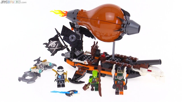 alright lego pirates heres what were gonna do were gonna take a tiny hot air balloon and turn it on its side then were gonna attach it to an old - Lego Ninjago Pirates