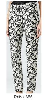Sydney Fashion Hunter - She Wears The Pants - Reiss Floral Women's Work Pants