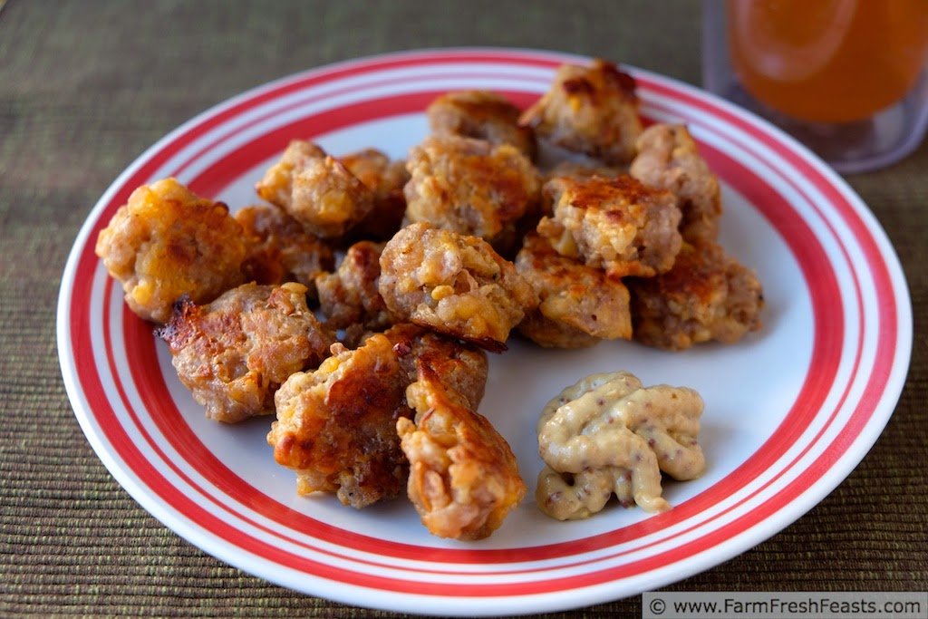 http://www.farmfreshfeasts.com/2014/10/sausage-cheese-apple-balls.html