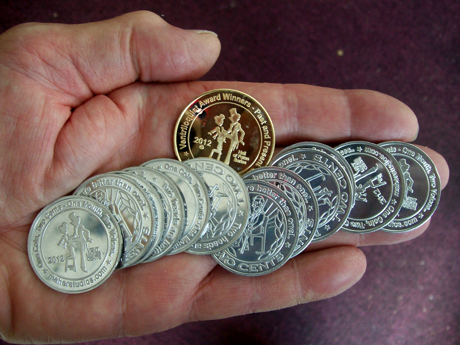 What two coins add up to 35 cents if one of them isn't a quarter?