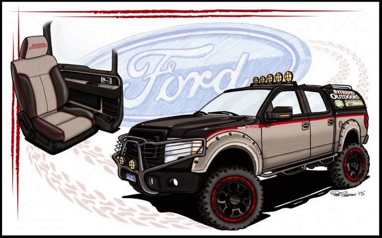 SEMA 2013 Reveals Variety of Customized Ford Trucks