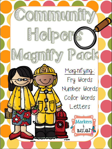 http://www.teacherspayteachers.com/Product/Community-Helper-Magnify-Pack-1413574
